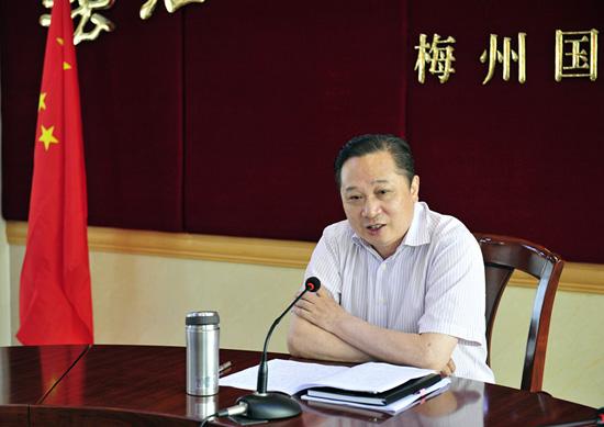 胡金木到梅州,揭阳开展群众路线教育实践活动专题