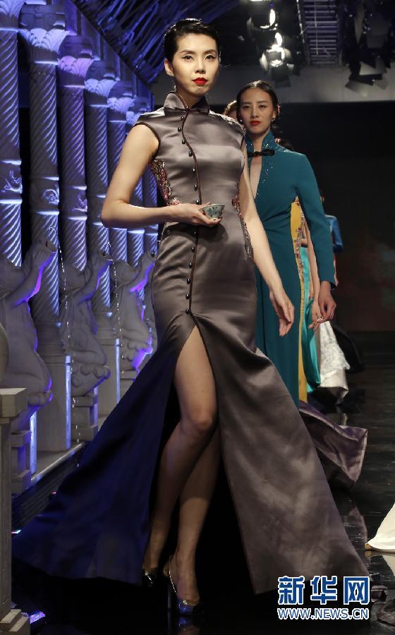 时尚旗袍发布秀