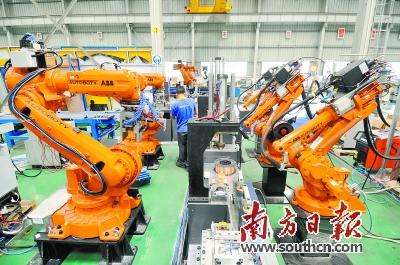 广东机器人产业发展示范区以及华南智能机器人创新研究院启动将有力