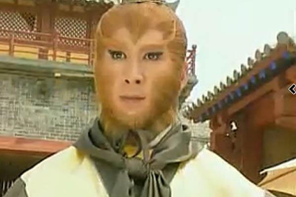 《西游记后传》中,孙悟空一角由曹荣出演图片