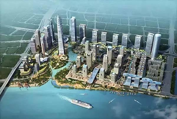 .5版CBD 琶洲片区:10平方千米-这3个CBD,是广州新未来