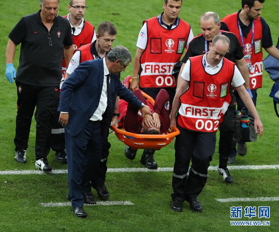 组图:欧洲杯葡萄牙1比0胜法国首次夺冠 C罗含