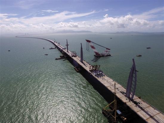 澳大桥珠海连接线一期工程横琴北至洪湾段已完成通车