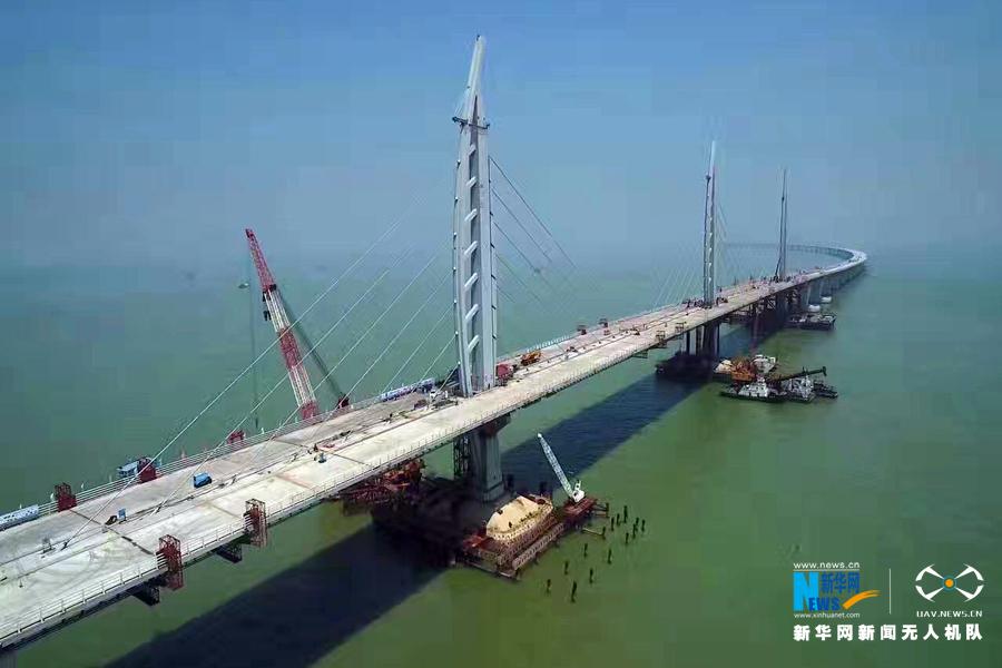 主体桥梁工程贯通