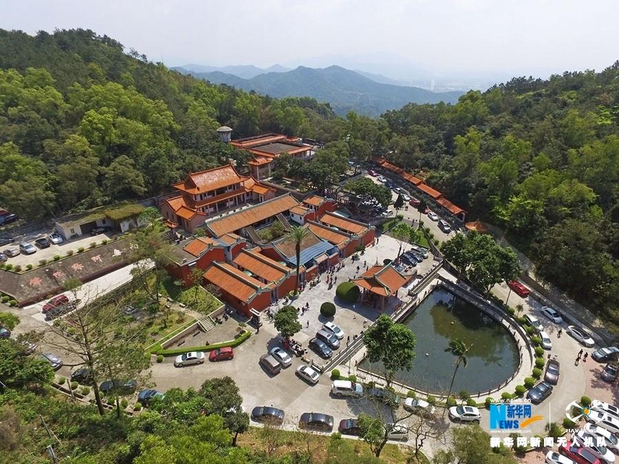 进贤县森林公园航拍