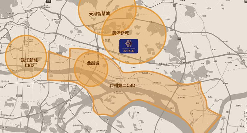 8年不容核心的错过:奥体楼盘!85万平!配广州优复式条形小学v核心图图片