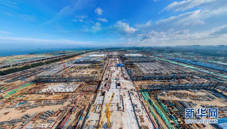 深圳国际会展中心打响钢结构攻坚战