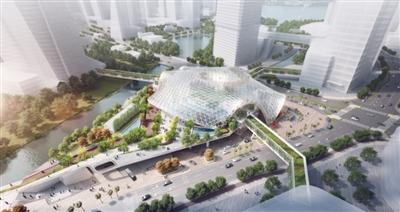 广州金融城站综合交通枢纽项目开工 计划2022年启用