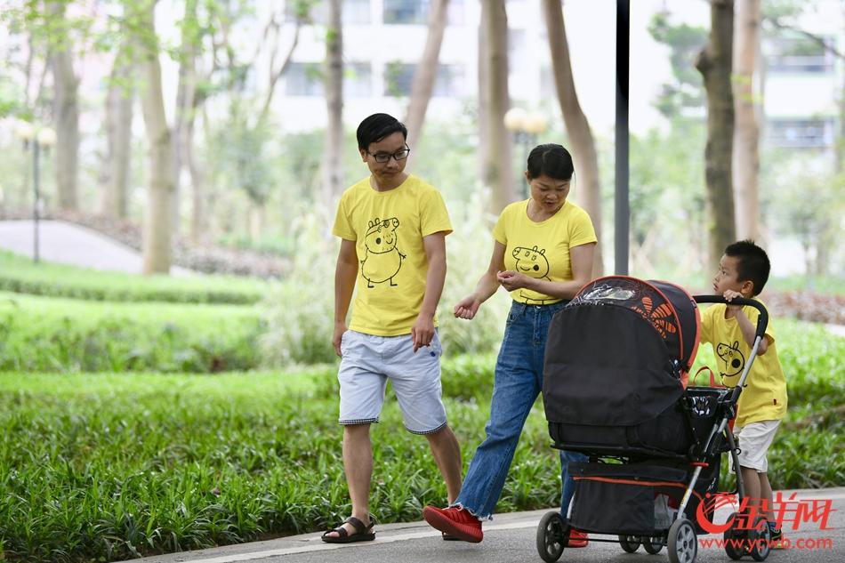 清明假期第二日 广州市民户外踏青赏春光