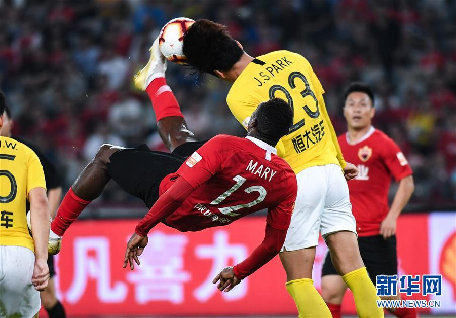(體育·專題)(3)足球——中超第26輪集錦