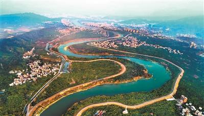 流溪河将建43.4公里碧道示范段
