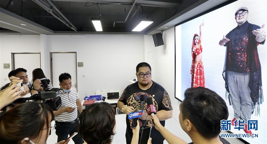 百事娱乐:新疆青年王洋:愿搭建粤疆民间文化