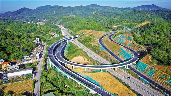 顺达注册:好消息!梅州东线18日通车 梅州首条环城高速将闭合成环