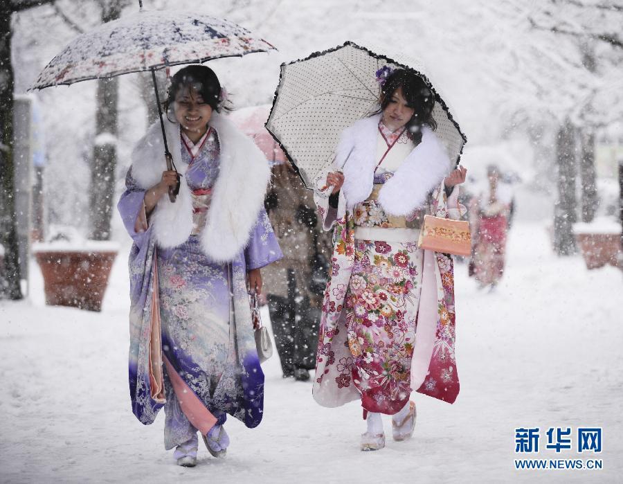 日本庆祝成人节 图片频道