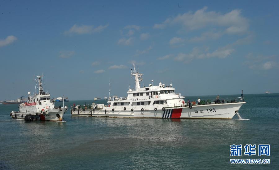 粤琼桂海事部门合力护卫琼州海峡春运安全