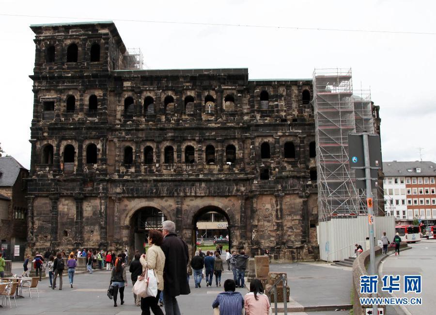 德国特里尔的古罗马建筑