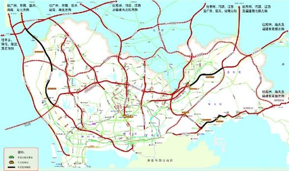 深圳高速路春节免费 车流高峰这么走最快