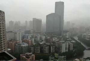 廣東廣西等地現大暴雨 華南等地降水趨于減弱