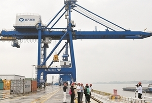 鹽田港北上長江打造全新黃石新港