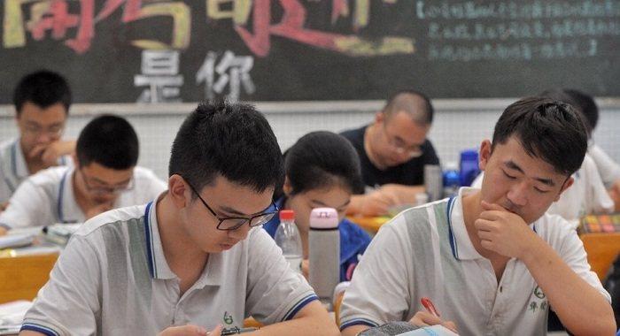 高考將至 高三學子抓緊最後時間備考