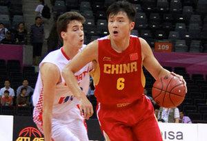 中國男籃紅隊斯杯首戰10分不敵克羅地亞