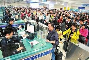廣東逾9成過關旅客候檢不超25分鐘