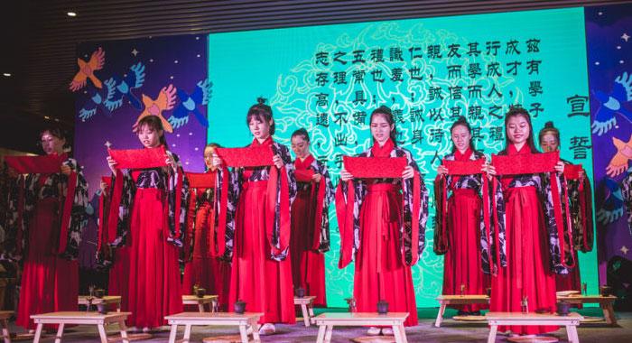 【城市表情】廣州塔再現傳統女子成年笄禮