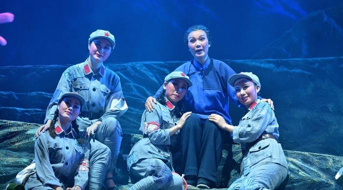 現代潮劇《紅軍阿姆》亮相第十三屆廣東省藝術節