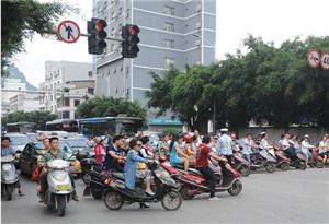 廣州交警開展非機動車交通違法全市統一整治行動