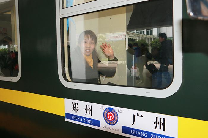 【直擊2018春運①】廣東春運首趟臨客31日從廣州開出