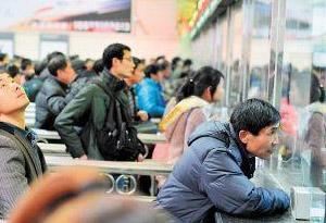 广铁节前客流高峰平稳度过 除夕出省车票充足