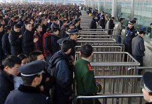 初二客流回升 广铁发送旅客100万人次