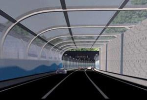 世界最大斷面公路隧道全面建成