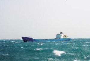 廣東汕頭海域一外籍貨船遇險 24名船員獲救