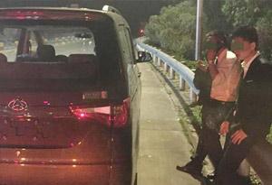 東莞兩輛新車剛進收費站被查,原來是這個原因惹禍
