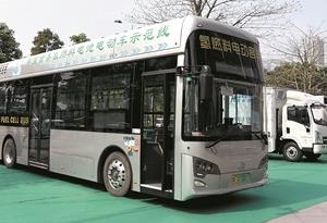 满足2000辆氢能公交运营 佛山今年逾10个加氢站投入使用