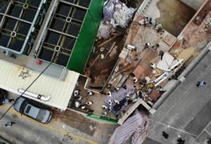 广州一施工工地3人掉入污泥消化池 致2死1伤