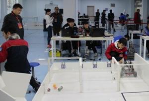 第45屆世界技能大賽廣東選拔賽移動機器人項目