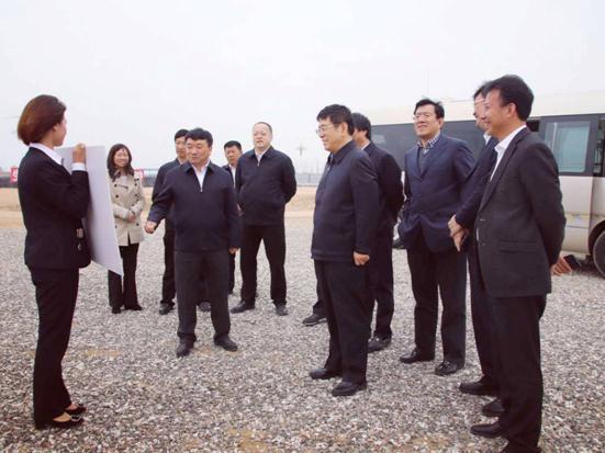 吉林省委常委、組織部部長王凱考察康美優品米業等項目
