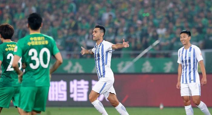 足球——中超:北京国安战平广州富力