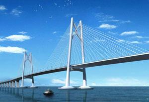 珠海开通港珠澳大桥海上游