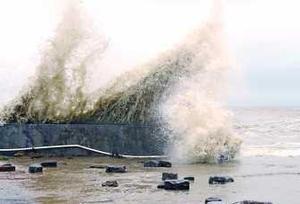 今年第4號臺風今晨在湛江登陸 廣東多地將有暴雨