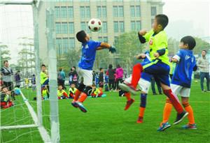 粤港澳台540名青少年在深圳举行足球赛