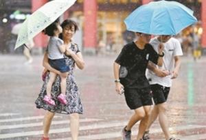 """台风""""安比""""未至 酷热先来广州"""