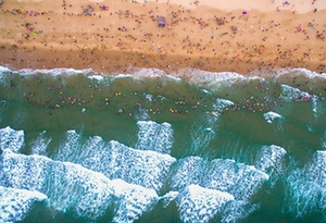 碧海藍天細沙 與大海來一次美麗邂逅