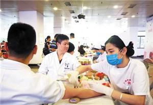 廣州迎來暑期無償獻血淡季 醫院鼓勵患者自體獻血