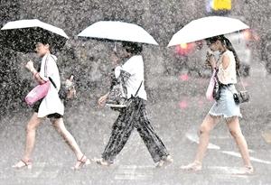 廣州天氣預報:8月末雨雨雨不停歇