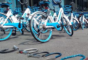 警企聯動起作用!佛山順德共享單車日均維修量從1000降至50
