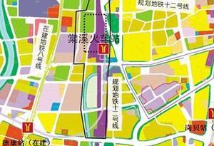廣州白雲(棠溪)站 將通2條高鐵6條地鐵