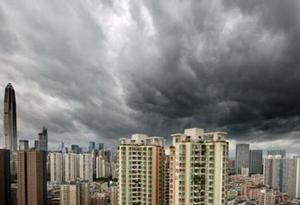 剛剛!深圳市分區臺風白色預警升級為藍色